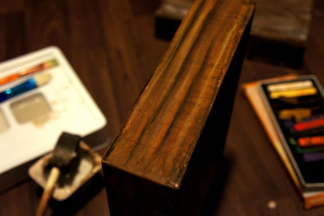 Faux Wood Box DIY